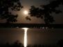 Moonrise over Gun Lake