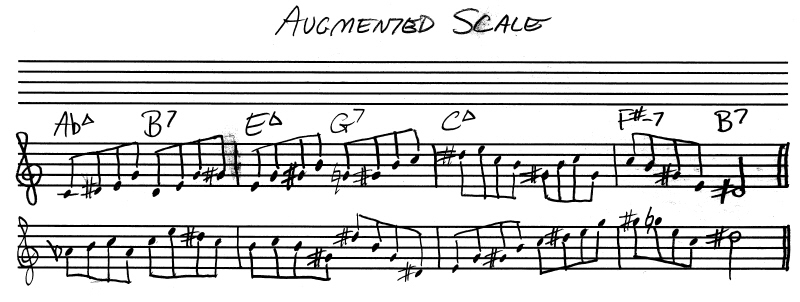 Using The Augmented Scale With Giant Steps