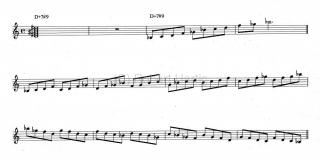 pentatonic-b6-scale