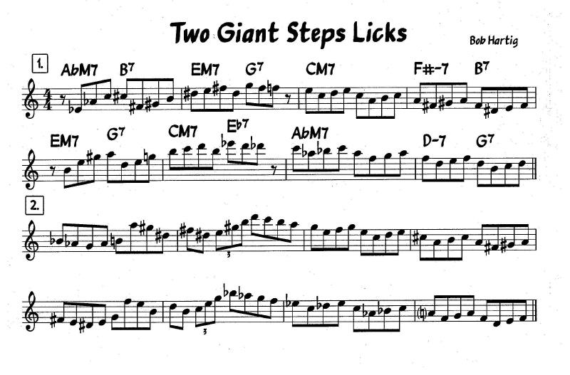 jazz licks bass clef pdf