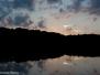 Twilight at Hall Lake