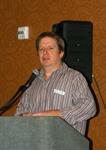 Paul Sirvatka of COD, conference organizer