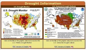 CPC Drought Info 1-29-13